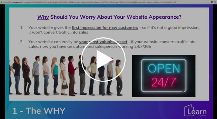 website speed optimization video training